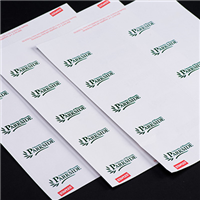 Adhesive UW-P Name Badges