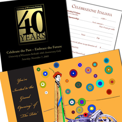 Invitation and Reply Cards