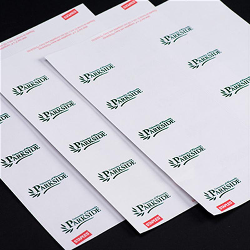 Adhesive UW-P Name Badges